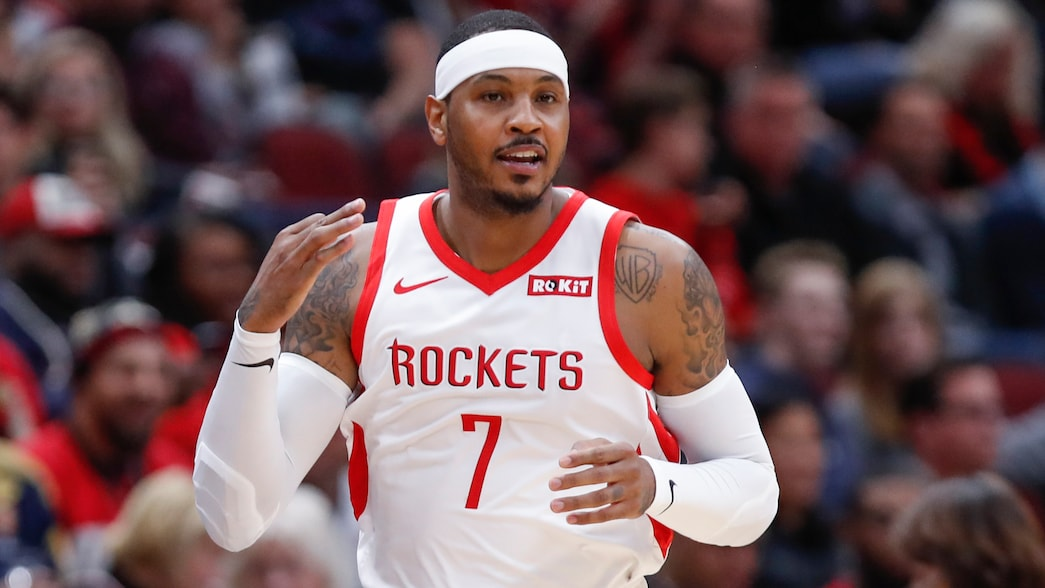 Carmelo Anthony ready for 'perfect opportunity' with Portland Trail Blazers