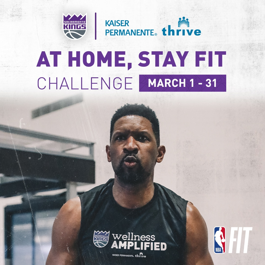 At Home, Stay Fit Challenge