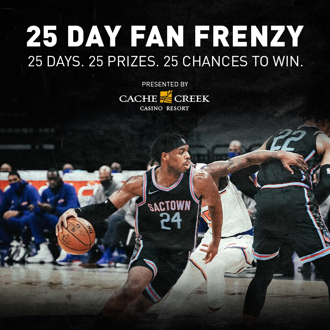 25 Day Fan Frenzy Presented by Cache Creek