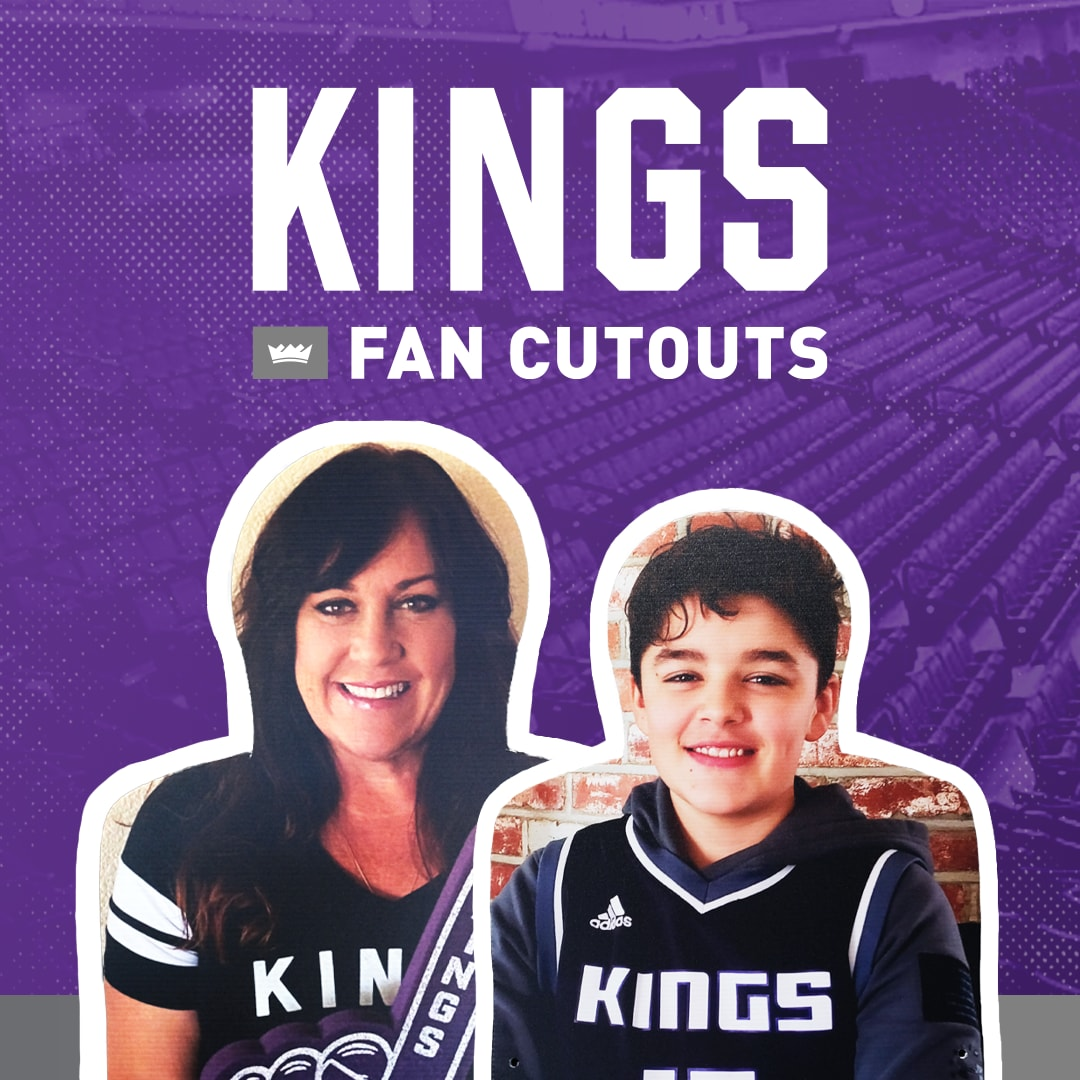 Get Your Own Fan Cutout in Golden 1 Center!