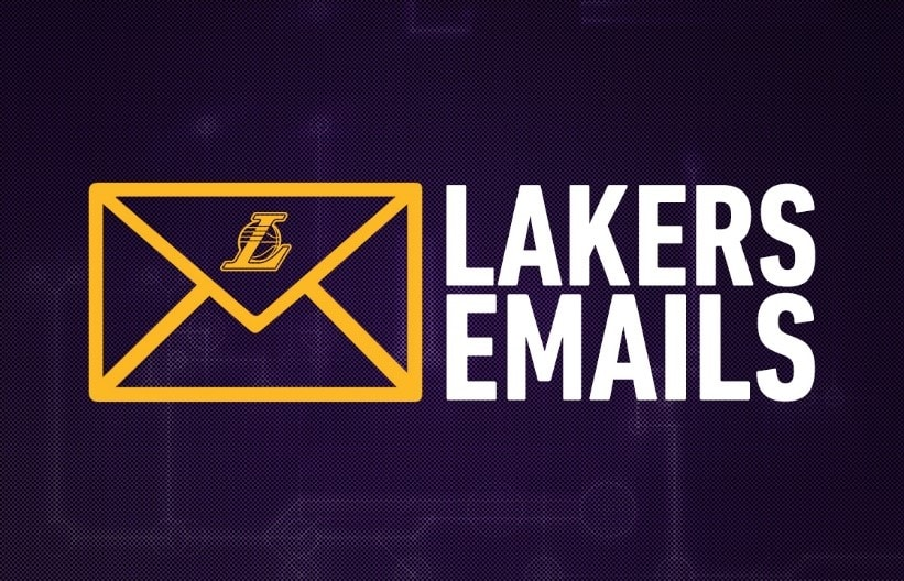 Lakers Email Newsletters