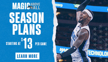 Orlando Magic season plans starting at $13 per game