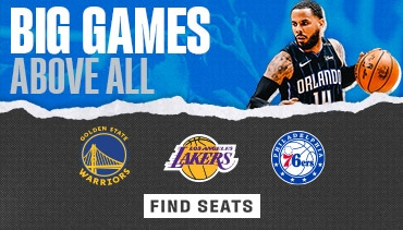 Seats for these Big Games are Available Now
