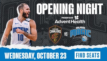 Join us at Amway Center on Wednesday, October 23. Find Seats Today