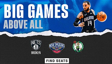 Big Games Above All. Nets, Pelicans, Celtics