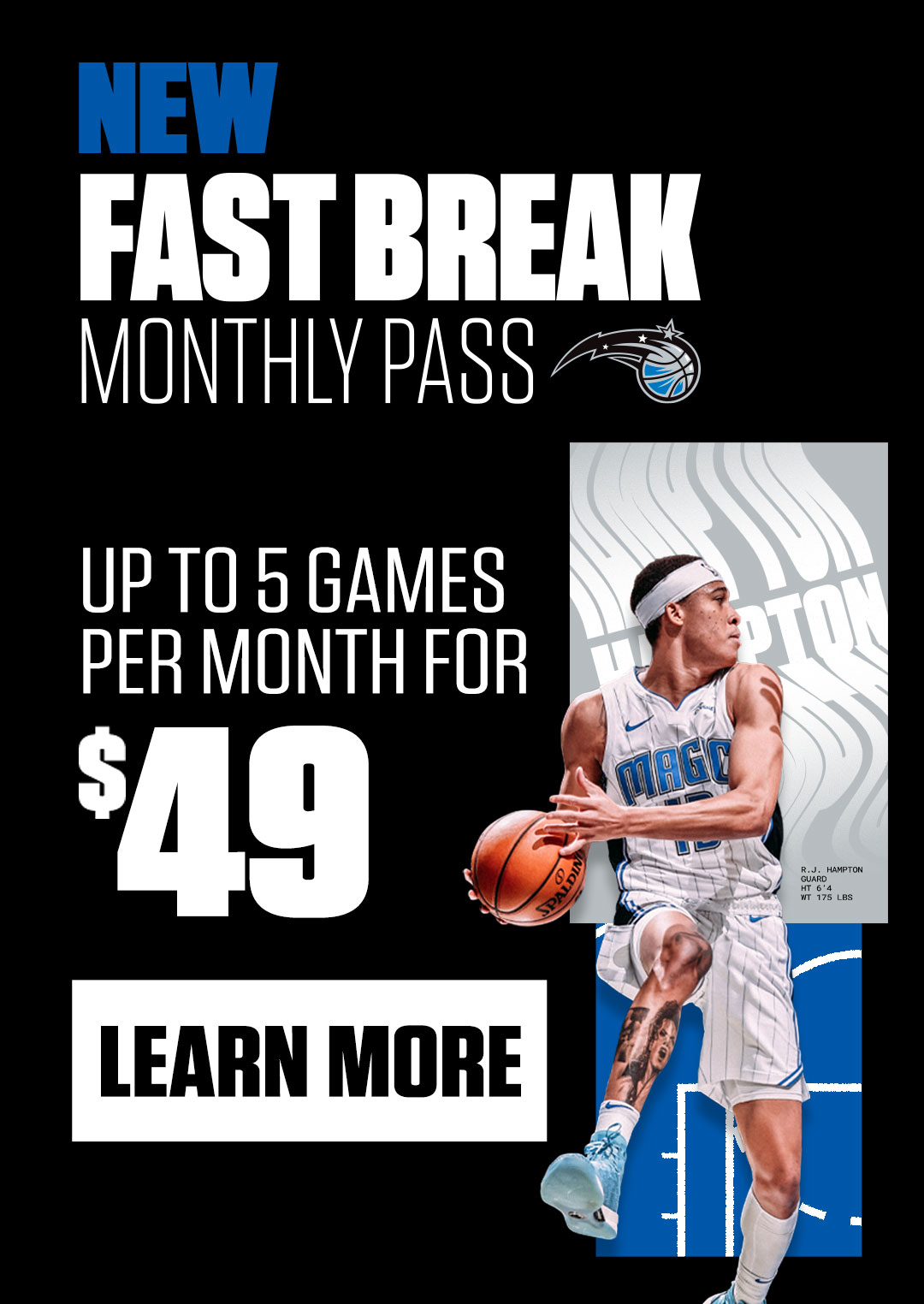 Up to 5 games a month for only $49, click here to learn more.