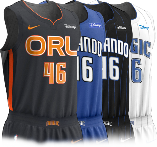 Orlando Magic Disney Jerseys