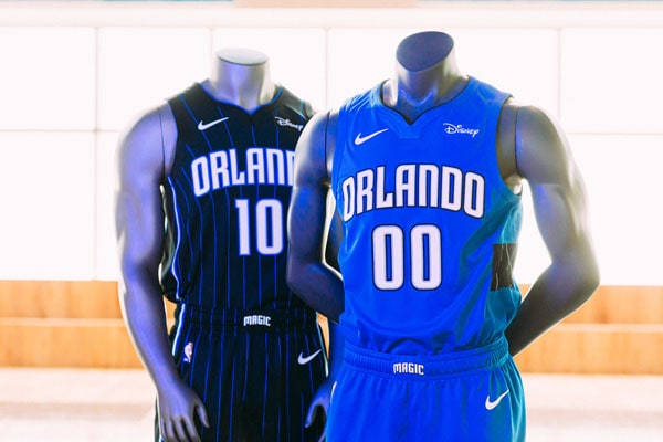 Orlando Magic Statement and Icon Jersey