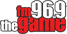 96.9 FM The Game logo