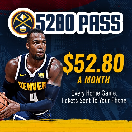 Denver Nuggets Quinteto: Ticket Promotions