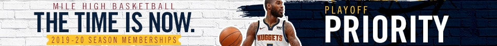 Denver Nuggets 2019-20 Season Memberships