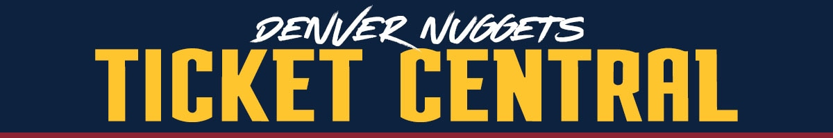 Denver Nuggets Ticket Central