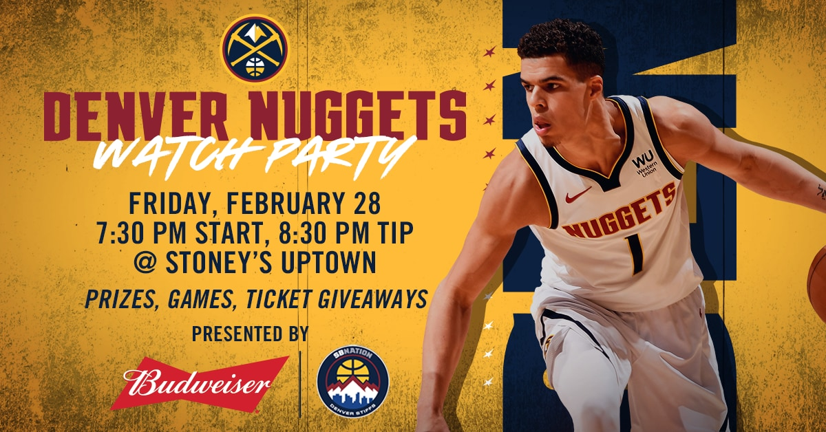 Denver Nuggets Watch Party
