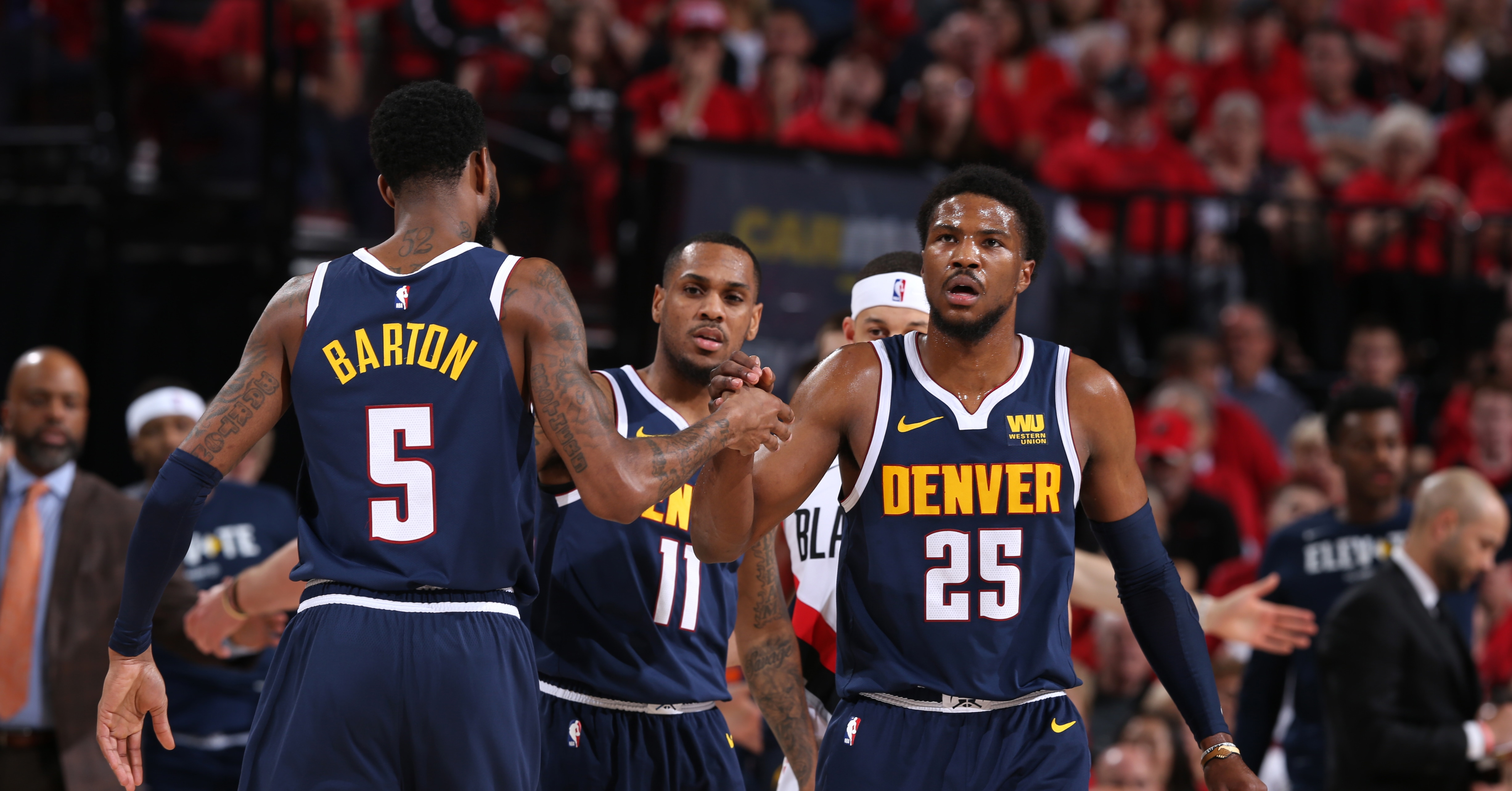 """Denver Nuggets: Analyzing the potential for a """"sliding"""" starting lineup"""