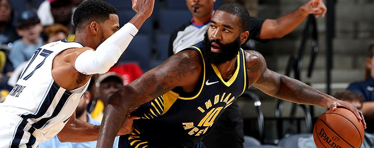 0740387926d0 Kyle O Quinn s versatility gives the Pacers a variety of rotation options  this season (Photo  NBAE Getty Images)