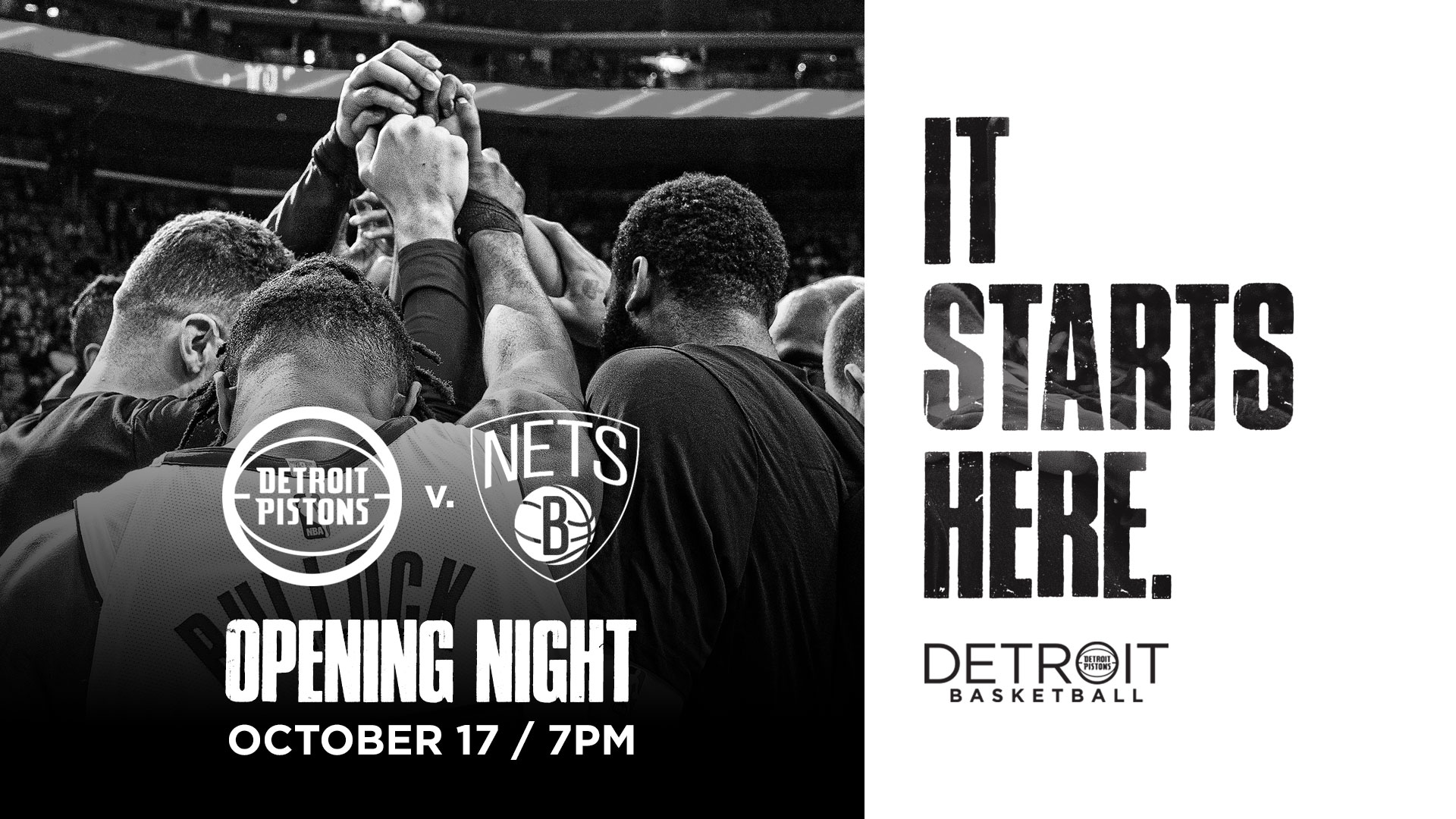 Opening Night at Little Caesars Arena | Detroit Pistons