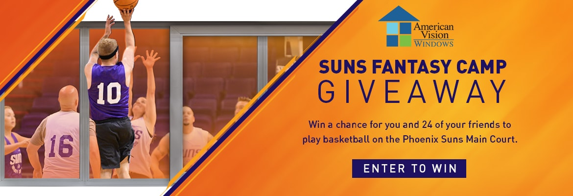 American Vision Windows Suns Fantasy Camp Giveaway