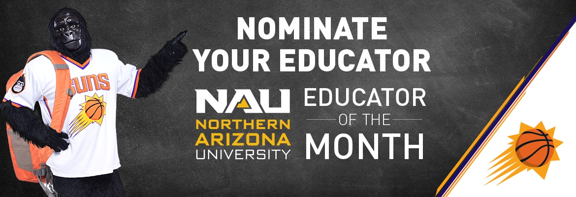 Nau Educator Of The Month