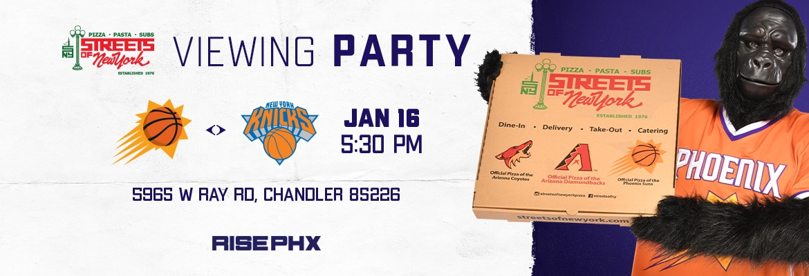 Streets of New York Viewing Party
