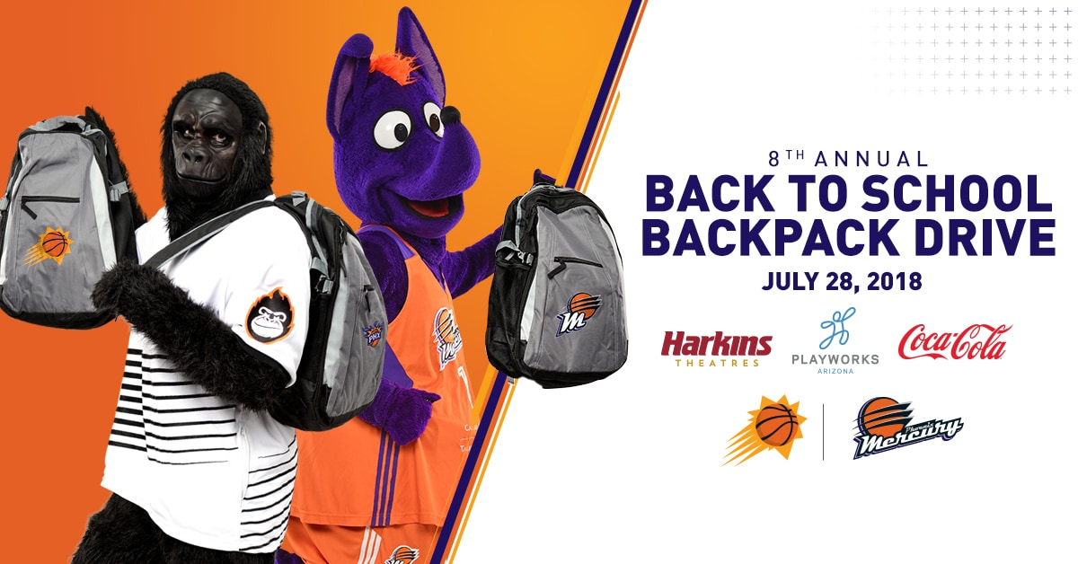 Back-to-School Backpack Drive