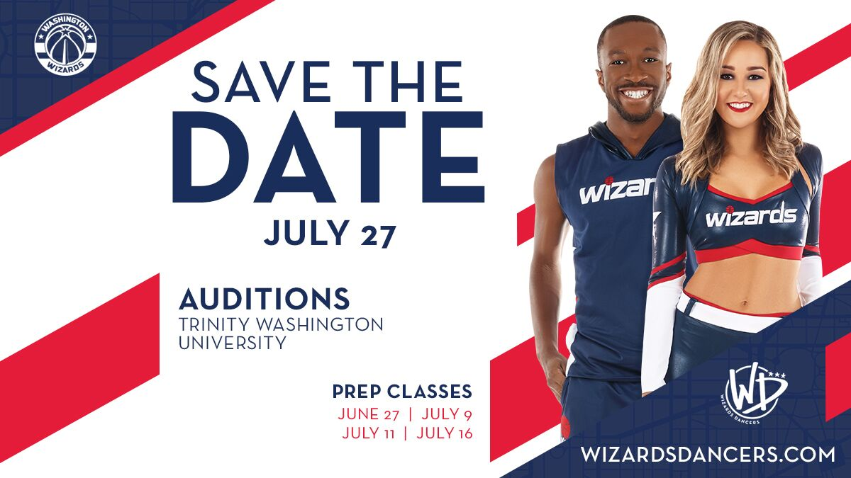 Wizards Dancers Auditions | Washington Wizards